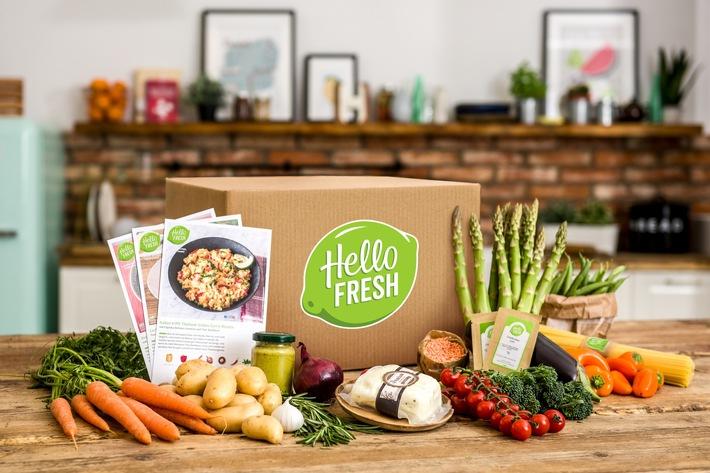 HelloFresh und Bosch kooperieren für noch schnelleres und einfacheres Kochen in der vernetzten Küche