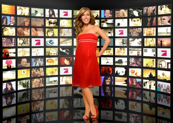 """NEU auf ProSieben: """"red!"""" - Stars, Lifestyle & More  - das Star- und Lifestylemagazin mit Annemarie Warnkross"""