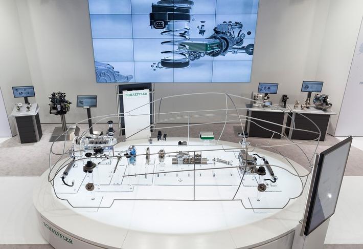 Schaeffler auf der North American International Auto Show (NAIAS) 2016 / Schaeffler zeigt Technologien für die Mobilität von morgen