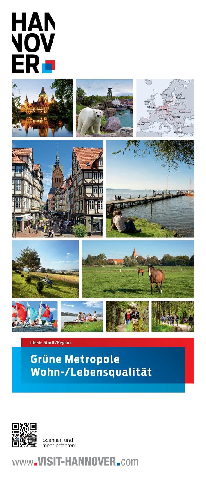 Höchste Lebensqualität in der grünen Metropole Hannover