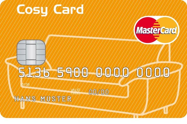 Conforama Schweiz lanciert in Zusammenarbeit mit GE Money Bank die Cosy Card