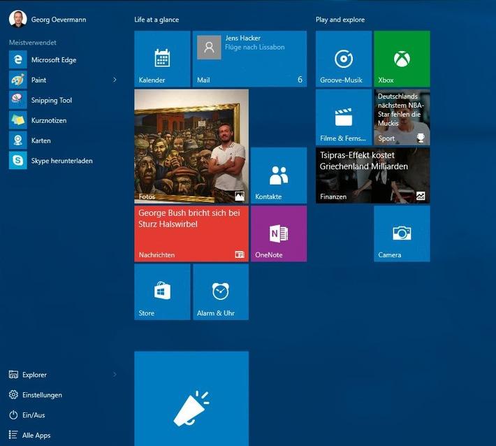 COMPUTER BILD-TEST: Umsteigen auf Windows 10 lohnt sich