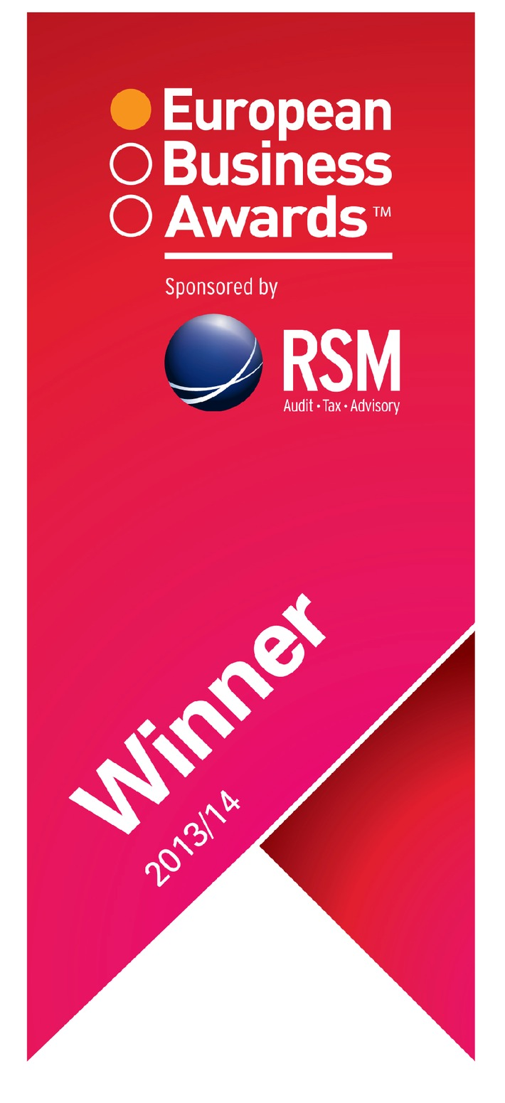 "B2X Care Solutions gewinnt renommierten European Business Award in der Kategorie ""Infosys Business of the Year with Turnover EUR150 million or higher"""