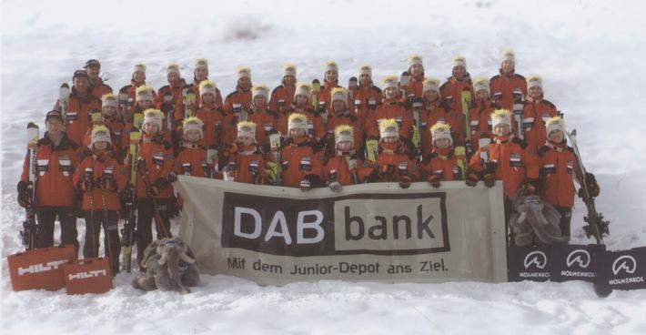 Blick auf Olympia / Alpiner Skisport: DAB unterstützt modernes Nachwuchsprogramm