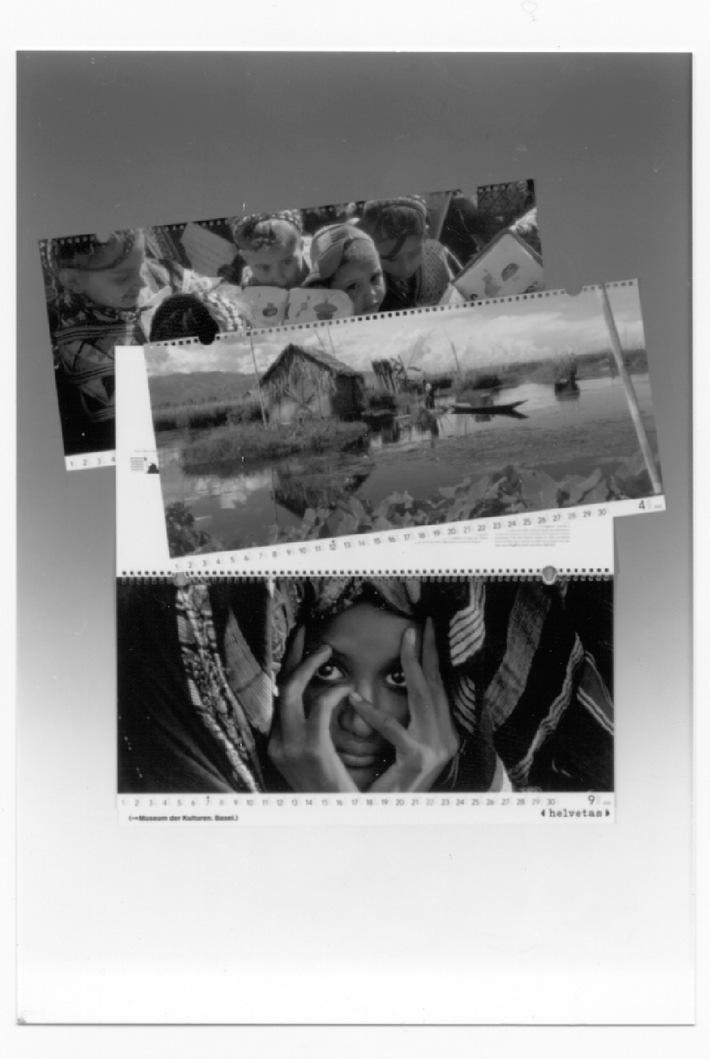 Helvetas-Panoramakalender zum Thema Nomaden