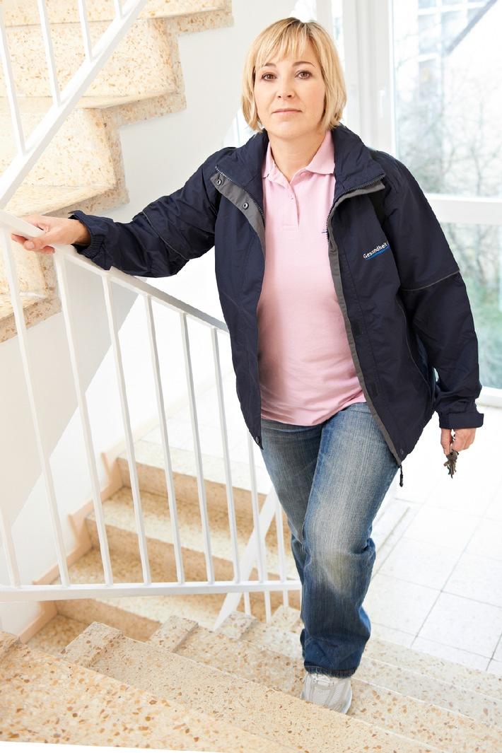 Stolperfalle Treppe: BGW gibt Sicherheitstipps