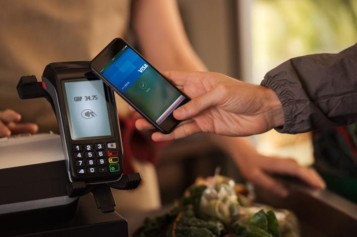 Visa Technologie bringt mobiles Bezahlen bis Ende 2017 in mehr als 12 europäische Länder