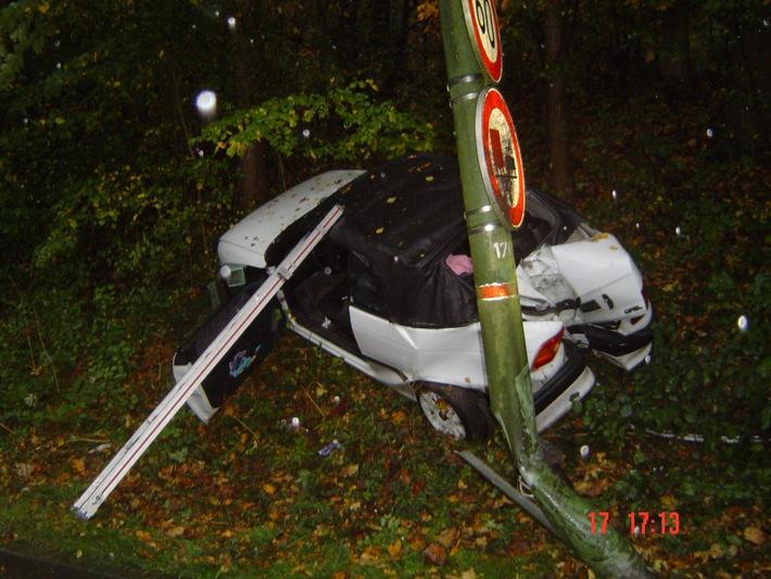 FW-E: Verkehrsunfall auf dem Bredeneyer Berg
