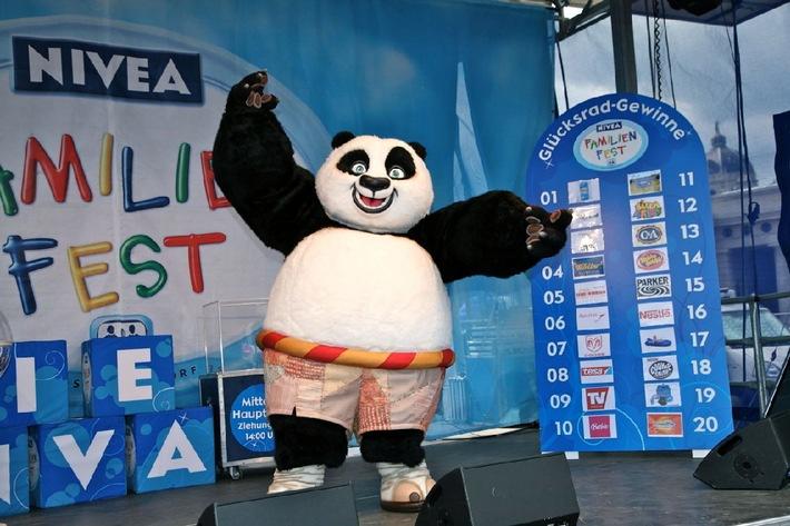 Großes NIVEA Familienfest mit Kung Fu Panda