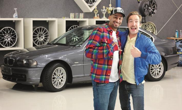 Wagner Big Pizza verschenkt Top Tuning Car auf Facebook