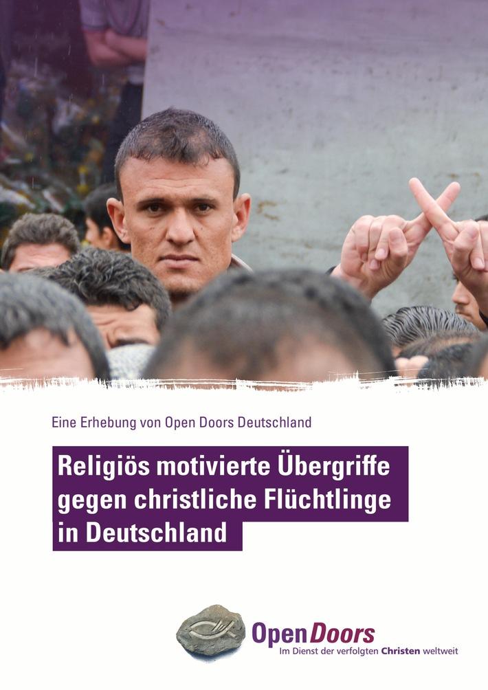 Gewalt gegen christliche Flüchtlinge in Deutschland / Hilfs- und Menschenrechtsorganisationen fordern Politik zu dringendem Handeln auf