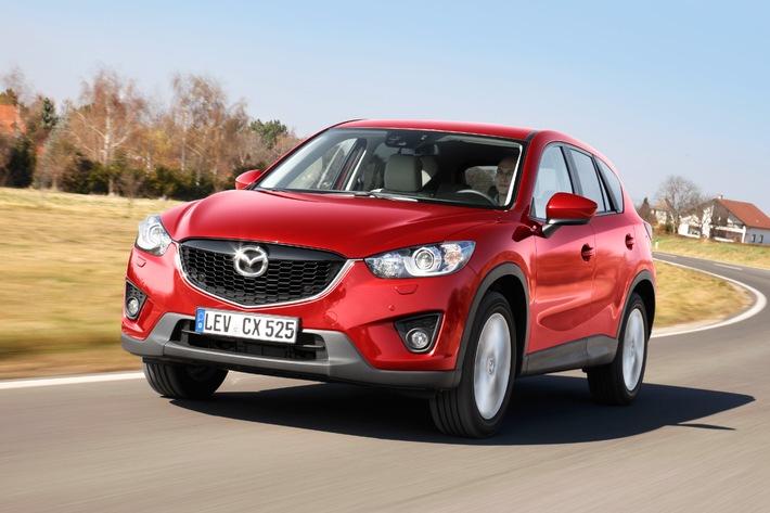 Mazda nimmt Kurs auf ein weiteres Rekordjahr / Mazda gibt Finanzergebnisse für das erste Quartal bekannt
