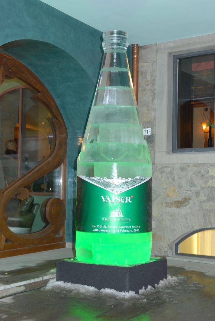 Valser accompagne la 15ème édition du St. Moritz Gourmet Festival