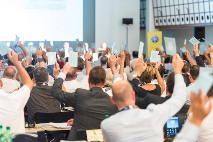 Ordentliche Delegiertenversammlung des TCS 2017: Für die Zukunft gerüstet