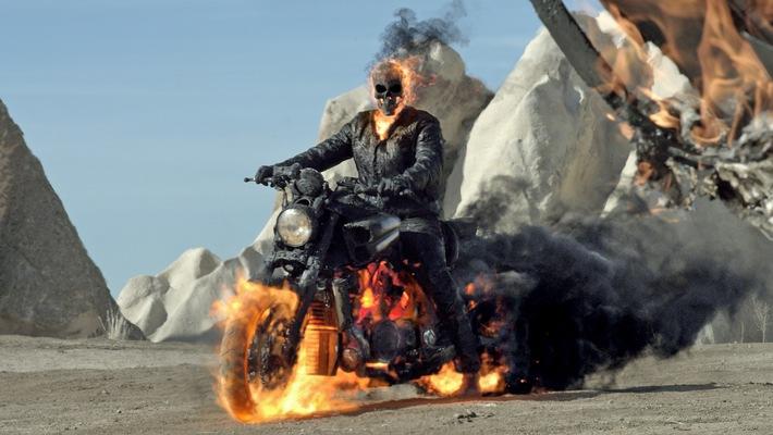 "Marvel-Comic-Action bei RTL II: ""Ghost Rider - Spirit of Vengeance"""