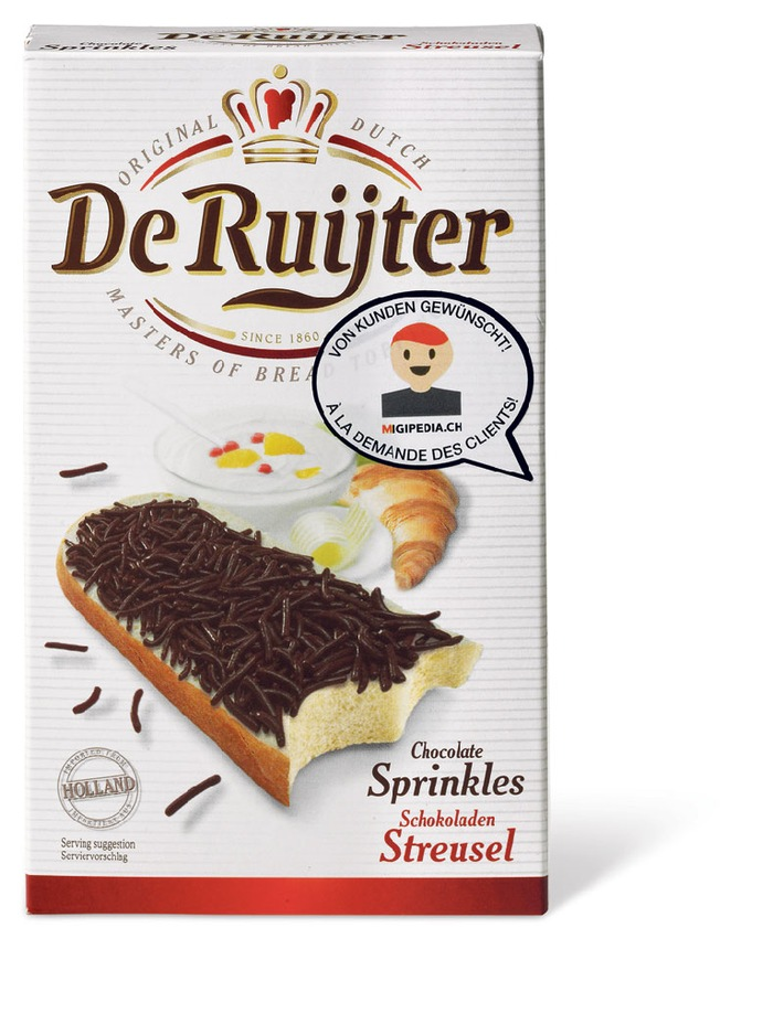 """""""Hagelslag"""" - grazie a Migipedia approda in Svizzera la regina della colazione olandese"""