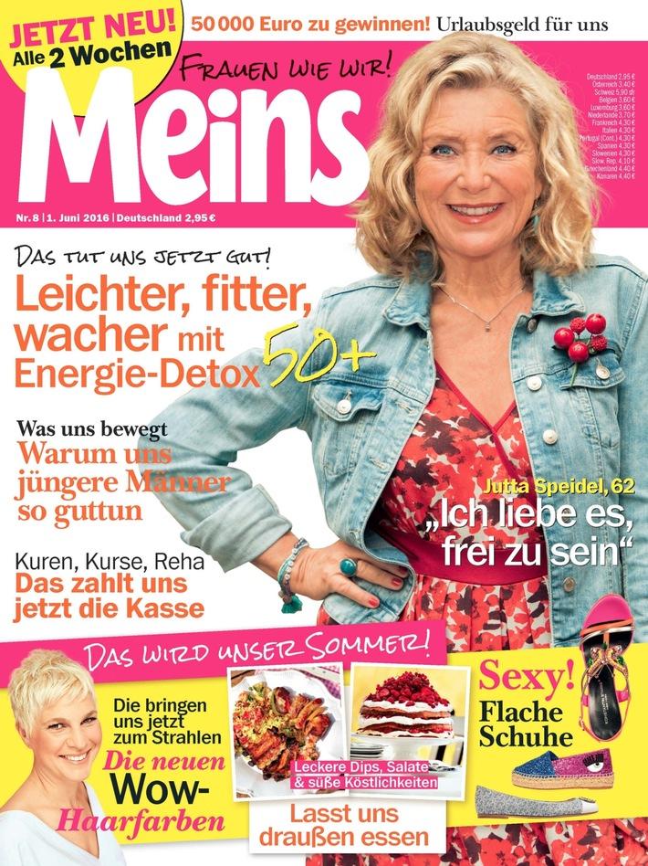 """Jutta Speidel (62) in Meins: """"Ich liebe es, frei zu sein"""""""