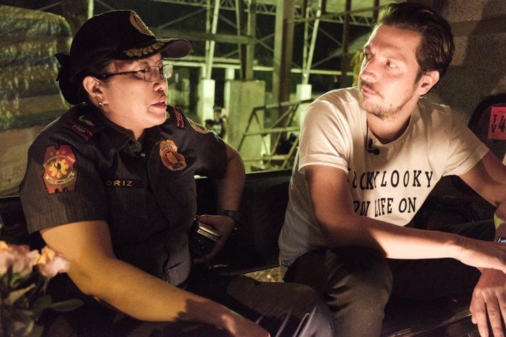 """8.000 Tote im Kampf gegen Crystal Meth: Thilo Mischke recherchiert für """"Uncovered"""" im Drogenkrieg auf den Philippinen"""