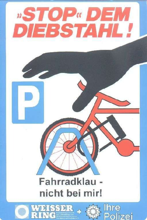 "POL-H: Einladung! Aktion ""Stoppt den Fahrraddiebstahl"" Hannover"