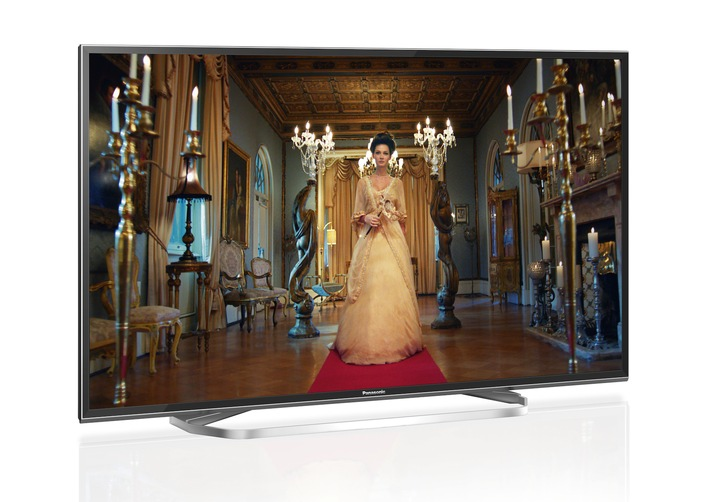 Hollywood im Wohnzimmer mit 4K Pro HDR / Der Panasonic EXW754 begeistert mit neuem HCX2-Prozessor, Hollywood-Tuning, Cinema Display, erweitertem Farbraum und attraktivem Design