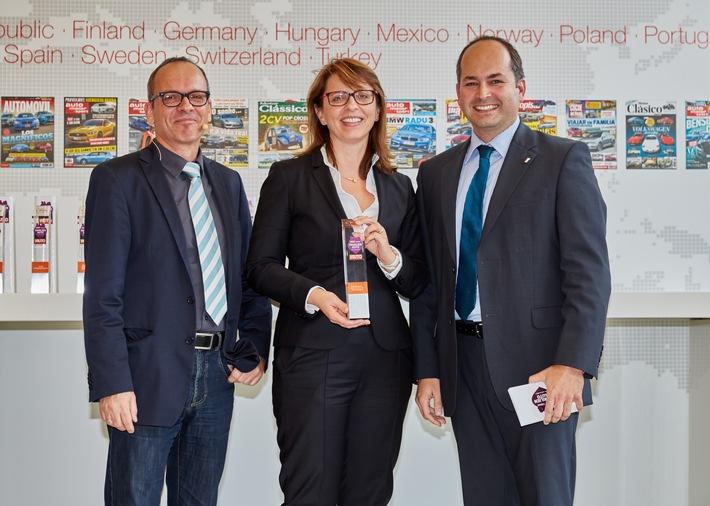 Dreifachsieg für SKODA bei der Leserwahl zum ,Familienauto des Jahres 2015'