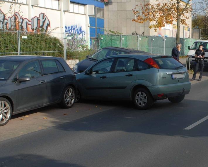 Fahrzeug der Verletzten