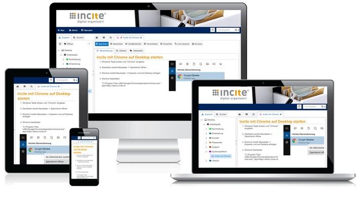 Incite GmbH lanciert innovative HTML5-Wissensplattform mit neuen Funktionen