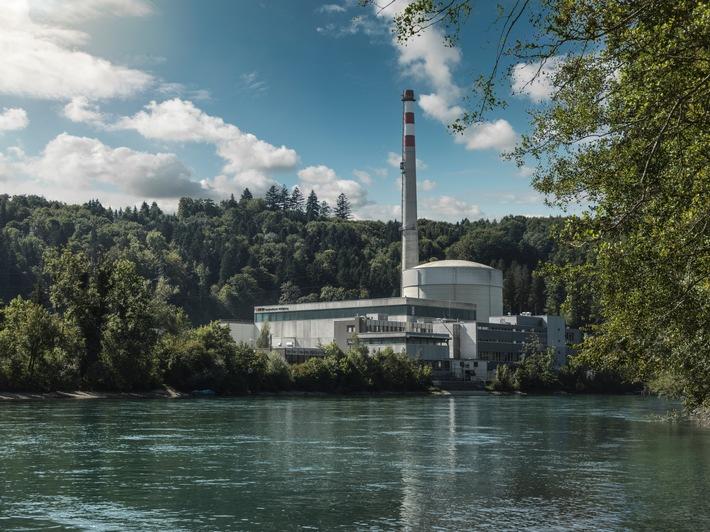 Centrale nucléaire de Mühleberg / Bon résultat de production en 2015