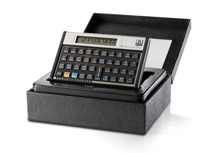 HP 12c - der Taschenrechner-Klassiker feiert mit einer 30th Anniversary Edition Geburtstag