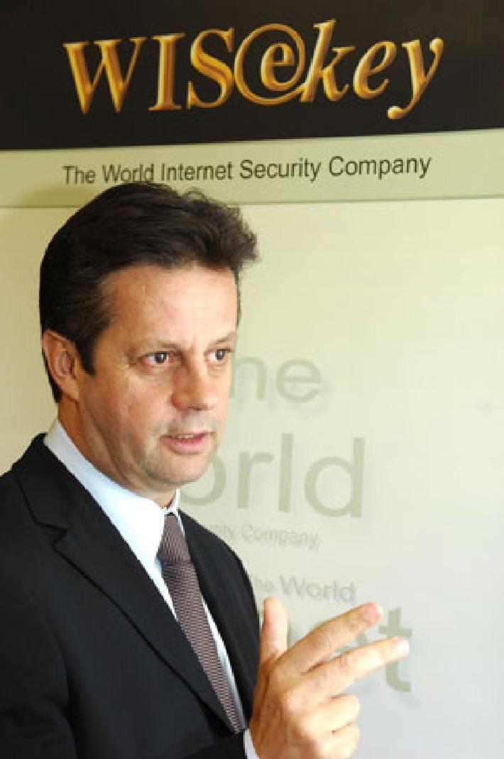 Geschäftsführer von WISeKey wird vom Wirtschaftsmagazin Agefi zum Unternehmer des Jahres gewählt