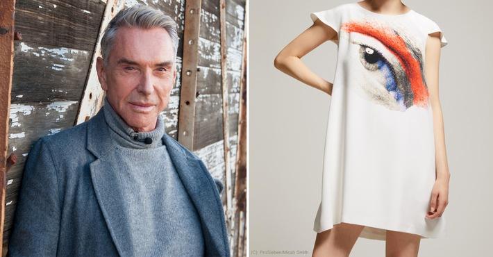 Germany's Next Topmodel-Finale: Wolfgang Joop versteigert Unikat / Auktionsportal United Charity bietet Kleid von Wolfgang Joop zugunsten des Red Nose Day 2017 an