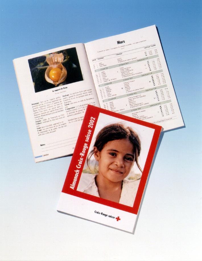 L'almanach Croix-Rouge suisse 2002 est arrivé