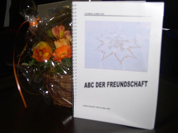 "Neuerscheinung Buch: ""ABC der Freundschaft"" kann nichts abhalten"