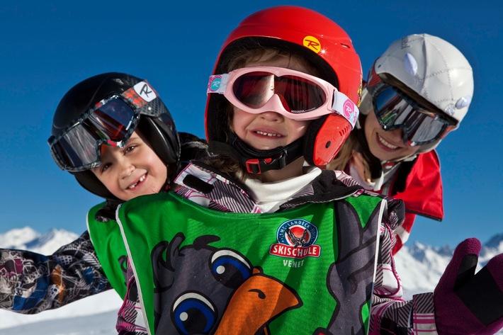 Eins, zwei, drei - kostenfrei: Tirol West mit einzigartiger Gratis-Winterwoche für Kinder