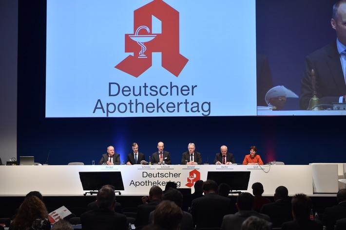 Arzneimittelversorgung für Patienten garantieren, Planungssicherheit für Apotheken schaffen / Deutscher Apothekertag