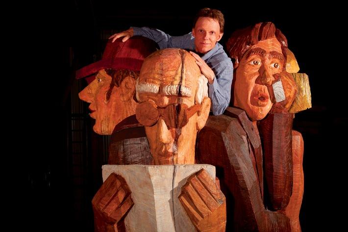 Faszination Mensch: Die grosse Werkschau von Sculpteur Stephan Schmidlin