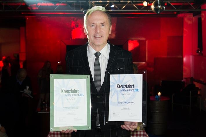 Kreuzfahrt Guide Award 2015: Zweifache Auszeichnung für Hapag-Lloyd Kreuzfahrten