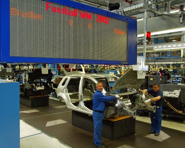 Spannung beim Halbfinale im Ford-Werk Niehl