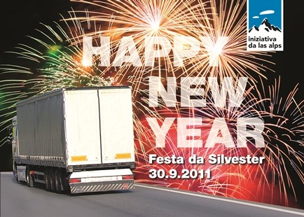 Das Lastwagenjahr ist um. Wir feiern deshalb Silvester - obwohl es uns nicht ums Feiern ist.