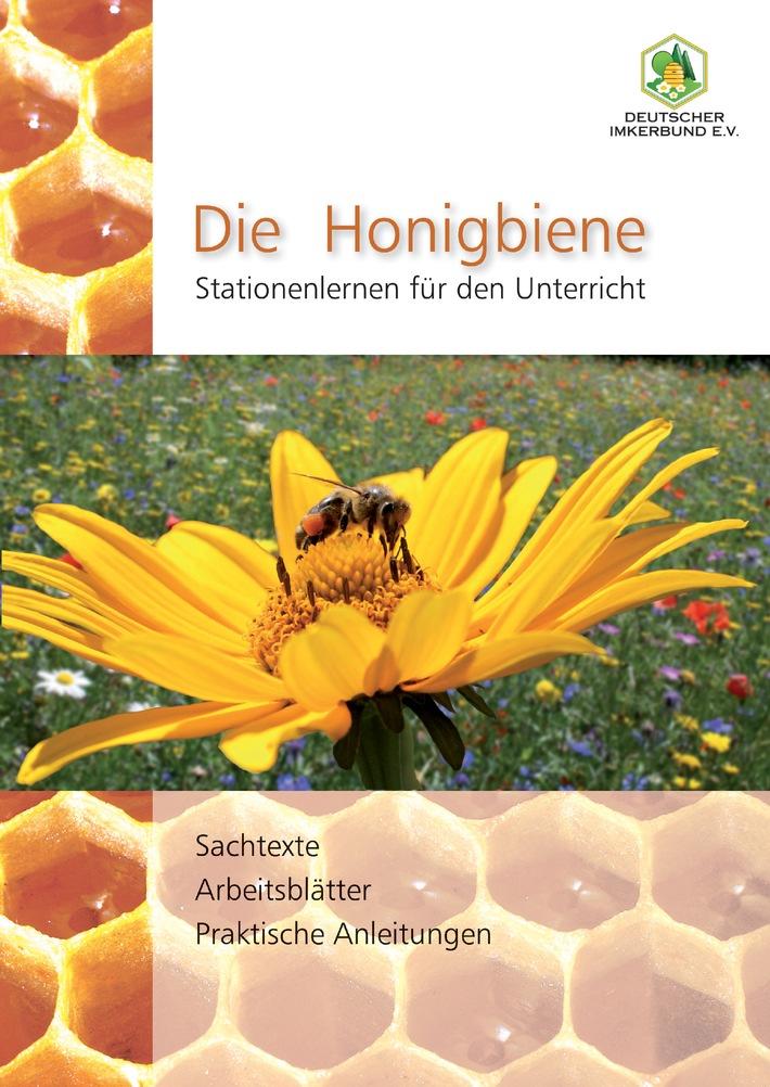 die honigbiene stationenlernen f r den unterricht deutscher imkerbund ver ffentlicht. Black Bedroom Furniture Sets. Home Design Ideas