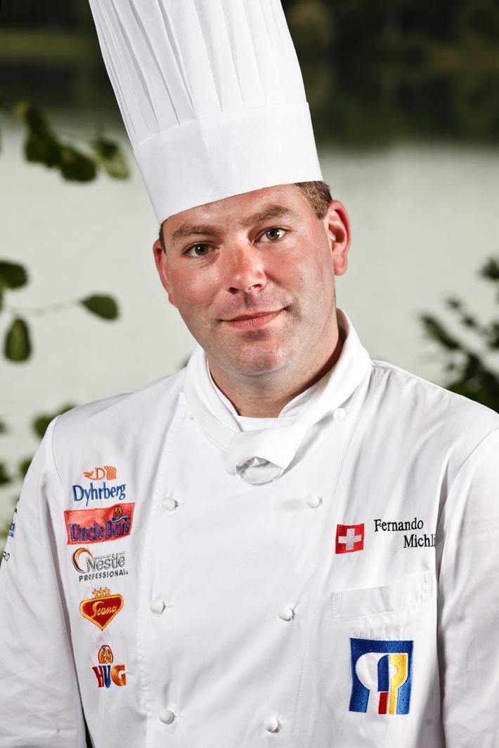 Neue Gesichter bei der Schweizer Kochnationalmannschaft