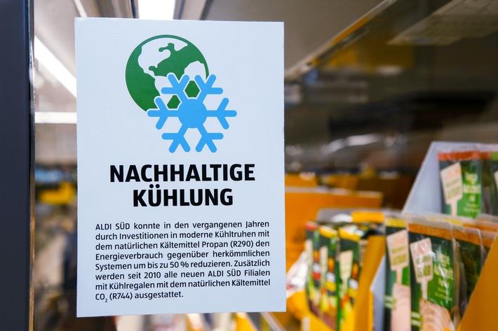 ALDI SÜD installiert 1000. CO2-Kälteanlage