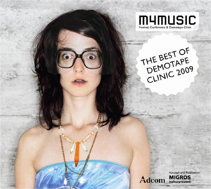 """""""The Best of Demotape Clinic 2009""""  m4music pubblica i migliori demo pop della Svizzera"""
