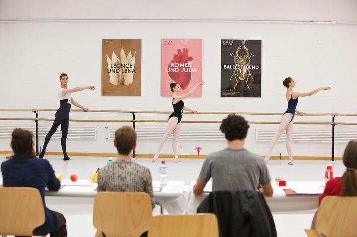Pour-cent culturel Migros: concours de danse 2013 / La fine fleur des jeunes artistes danseurs
