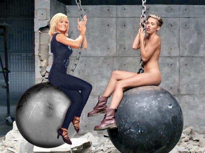 """Atemlos auf dem """"Wrecking Ball?"""" - Helene Fischer exklusiv in BRAVO: Ein Duett mit Miley Cyrus wäre richtig cool!"""""""