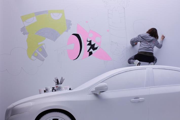 Volvo présente le film définitif «Volvo Art Session»