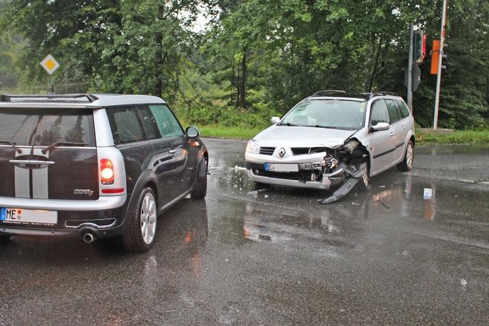 beschädigter Renault