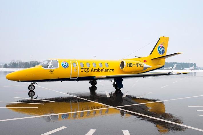TCS Ambulance : Repatriierung der ersten Verletzten von den Kanarischen Inseln in die Schweiz.