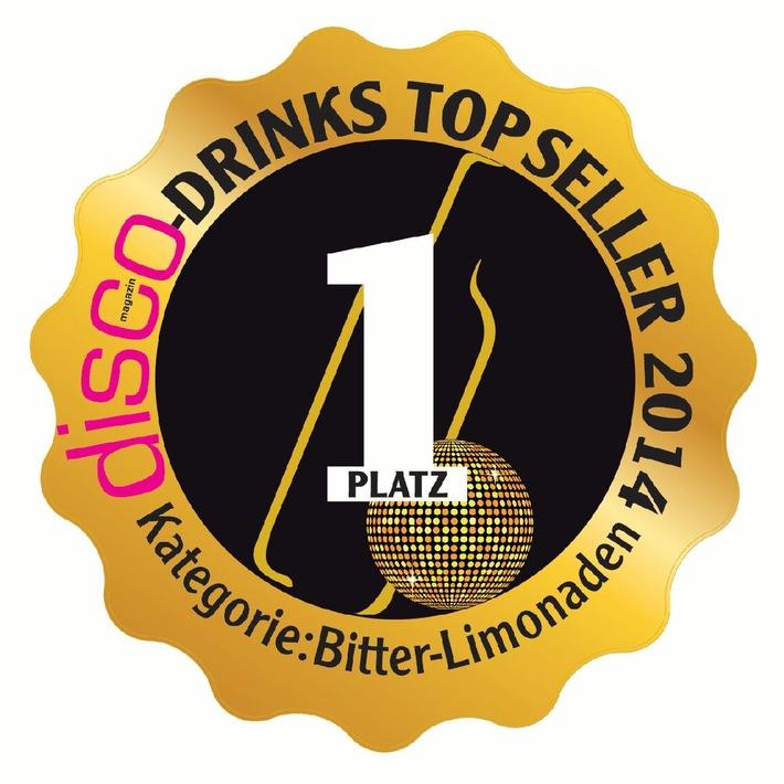 disco-magazin kürt Schweppes zum Top-Drink 2014 in der Kategorie Bitterlimonaden