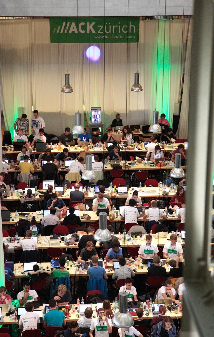 Die Gewinner von HackZurich stehen fest (BILD)